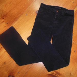 J BRAND 26 Black Cigarette Leg Cords